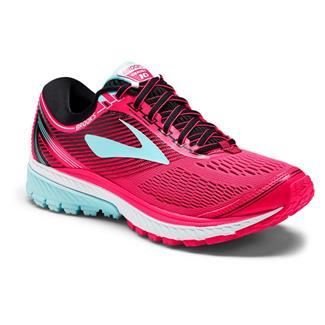 Brooks Ghost 10 Diva Pink / Black / Iceland Blue