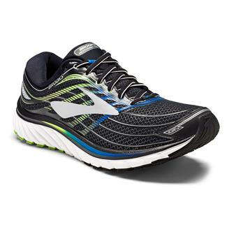 Brooks Glycerin 15 Black / Electric Blue / Green Gecko