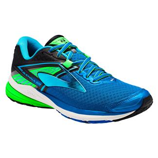 Brooks Ravenna 8 Electric Blue Lemonade / Black / Green Gecko