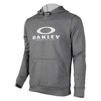 Oakley 360 Pullover Fleece Hoodie Athletic Heather Gray