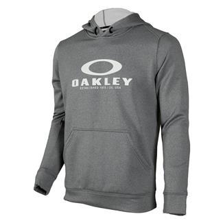 Oakley 360 Pullover Fleece Hoodie Athletic Heather Gray