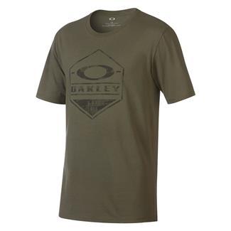Oakley Camo Hex T-Shirt Dark Brush