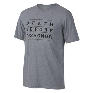 Oakley Death Before Dishonor T-Shirt Athletic Heather Gray