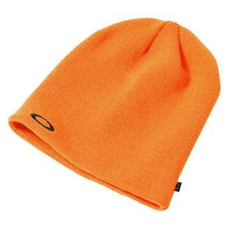 Oakley Fine Knit Beanie Neon Orange