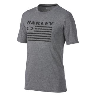 Oakley Flag T-Shirt Athletic Heather Gray