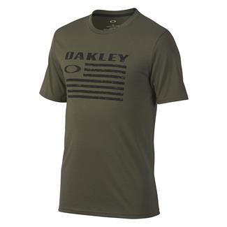 Oakley Flag T-Shirt Dark Brush