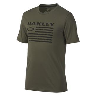 Oakley Flag T-Shirt Dark Brush