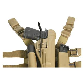 Blackhawk Pistol Bungee Retention Kit Black