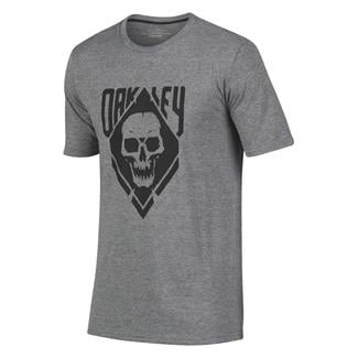 Oakley Skull T-Shirt Athletic Heather Gray