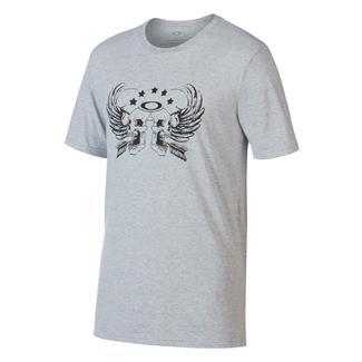 Oakley Skull Wings T-Shirt Heather Gray