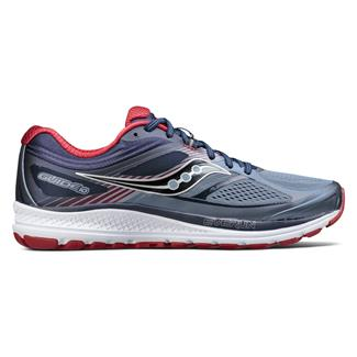 Saucony Guide 10 Gray / Navy / Red