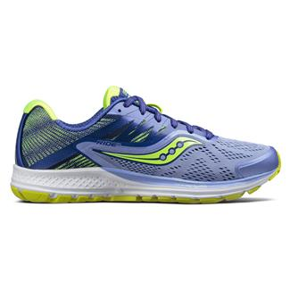 Saucony Ride 10 Purple / Blue / Citron
