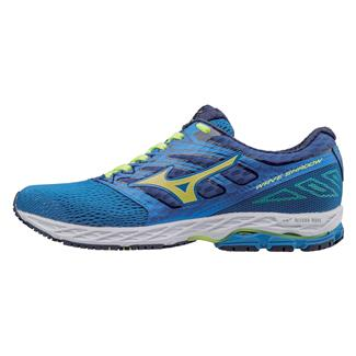 Mizuno Wave Shadow Directoire Blue / Safety Yellow / Blue Depths