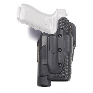 Gould & Goodrich Light Bearing X-Calibur Holster Basket Weave Black