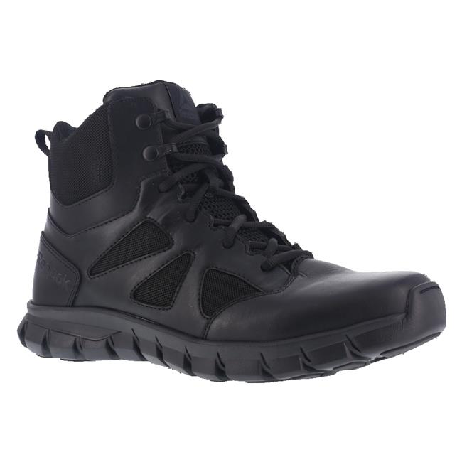 Reebok Men's Sublite Cushion RB8605 Military and Tactical Boot Black 12 W US