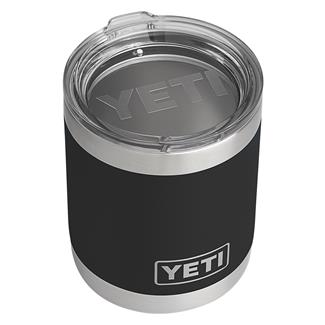 YETI Rambler 10 oz. Lowball with Lid Black