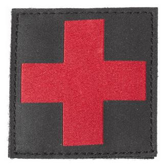 Blackhawk Red Cross Patch Black