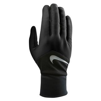 NIKE Dri-FIT Tempo Run Gloves Black / Black / Silver
