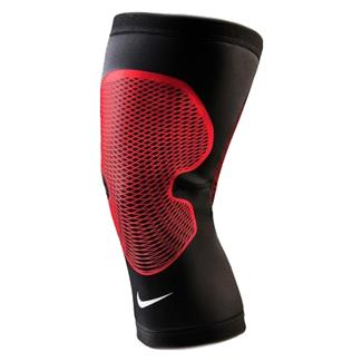 NIKE Pro Hyperstrong Knee Sleeve 2.0 Black / University Red / White