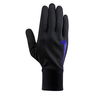 NIKE Therma Gloves Black / Deep Royal Blue / Deep Royal Blue