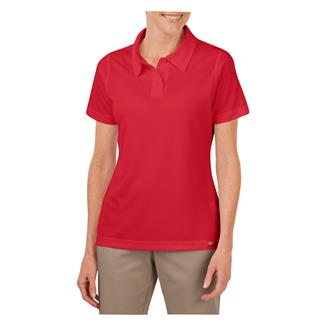 Dickies Industrial Performance Short Sleeve Polo English Red