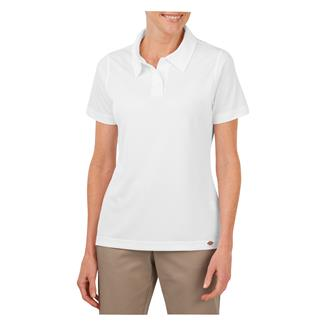 Dickies Industrial Performance Short Sleeve Polo White