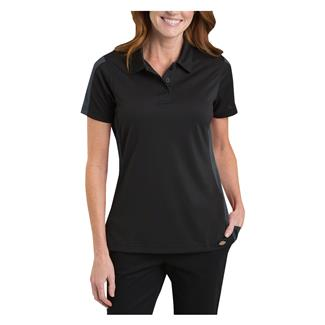 Dickies Performance Color Block Polo Black / Dark Charcoal