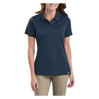 Dickies Performance Color Block Polo Dark Navy / Smoke