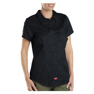 Dickies Short Sleeve Work Shirt Black