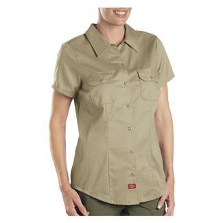 Dickies Short Sleeve Work Shirt Khaki
