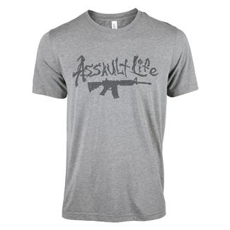 TG Assault Life T-Shirt Gray