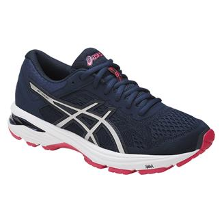 ASICS GT-1000 6 Insignia Blue / Silver / Rouge Red