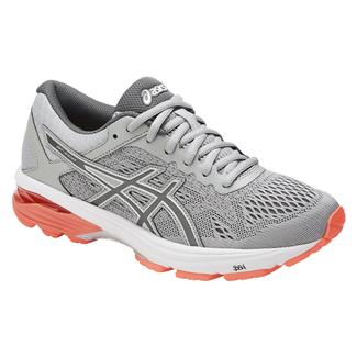 ASICS GT-1000 6 Mid Gray / Carbon / Flash Coral