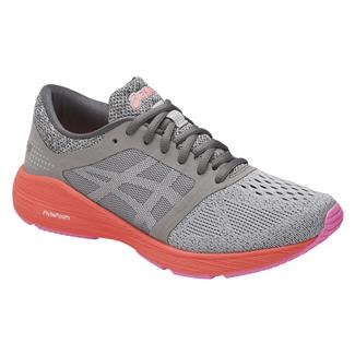 ASICS Roadhawk FF Carbon / Silver / Flash Coral