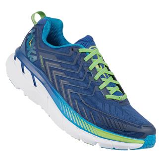 Hoka One One Clifton 4 True Blue / Jasmine Green