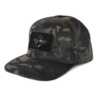 Condor Flat Bill Snapback Hat MultiCam Black