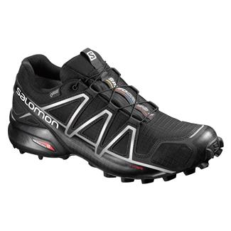 Salomon Speedcross 4 GTX Black / Black / Silver Metallic-x