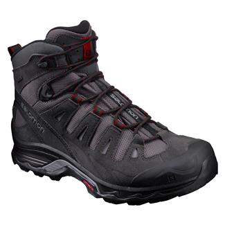 Salomon Quest Prime GTX Magnet / Black / Red Dahlia