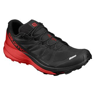 Salomon S-Lab Sense Ultra Black / Racing Red / White