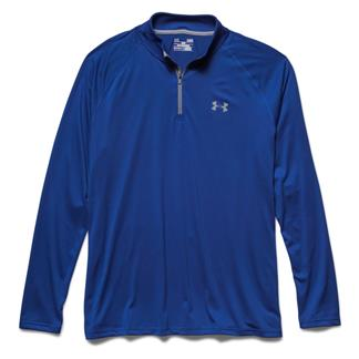 Under Armour Tech 1/4 Zip Royal / Steel / Steel