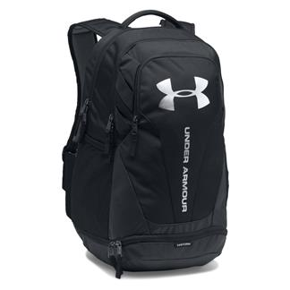Under Armour Hustle 3.0 Backpack Black / Black / Silver