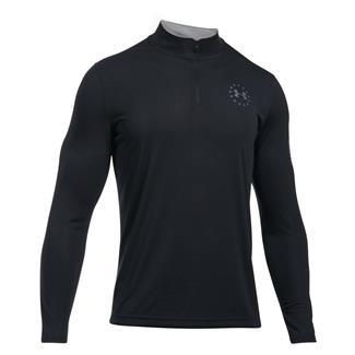 Under Armour Freedom Threadborne 1/4 Zip Shirt Black / Graphite