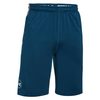 Under Armour Freedom Raid Shorts Blackout Navy / White