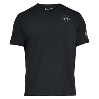 Under Armour Freedom Flag T-Shirt Black / Steel
