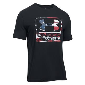 Under Armour Freedom BFL T-Shirt Black / White