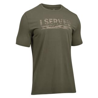 Under Armour Freedom I Served 2.0 T-Shirt Marine OD Green / Desert Sand