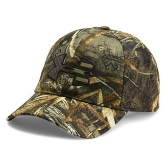 Under Armour Camo Big Flag Logo Cap Realtree Max 5 / Maverick Brown / Bayou