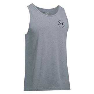 Under Armour Freedom Flag Tank Steel Light Heather / Black