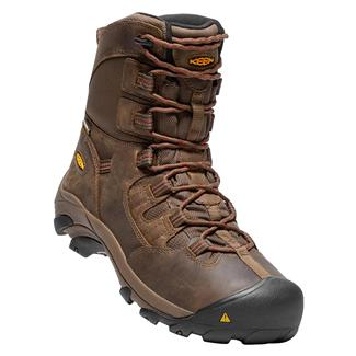 "Keen Utility 8"" Detroit WP Dark Earth / Burnt Henna"