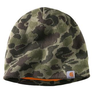 Carhartt Montgomery Reversible Hat Burnt Olive Camo